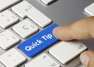 Quick Tip. Keyboard